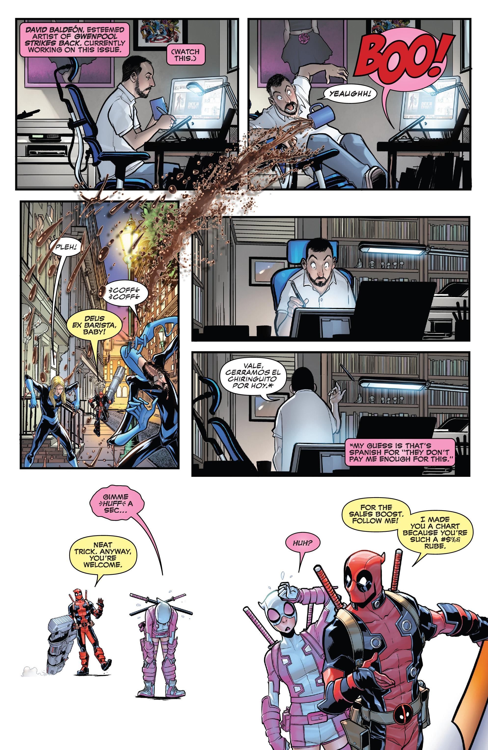 Gwenpool Strikes Back V2019 #003 (2019) - Page 4