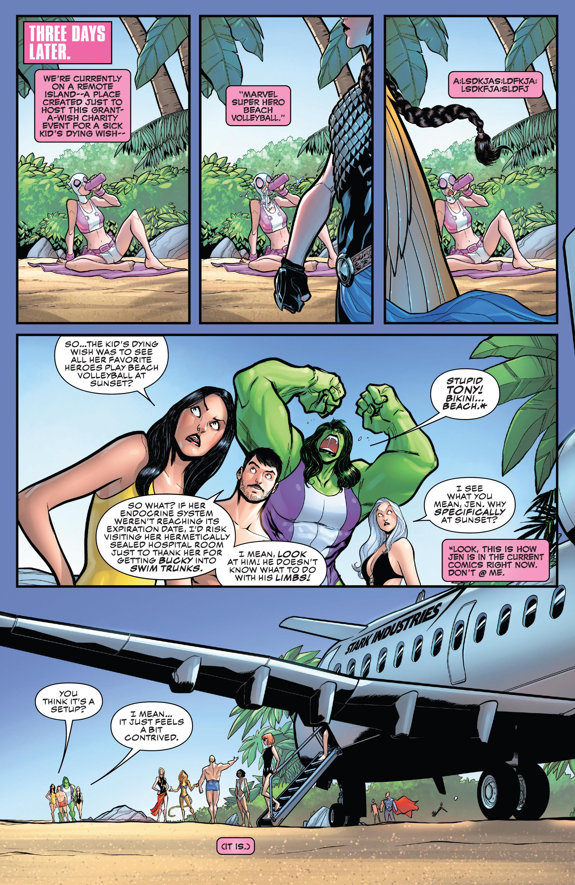 Gwenpool Strikes Back V2019 #003 (2019) - Page 8