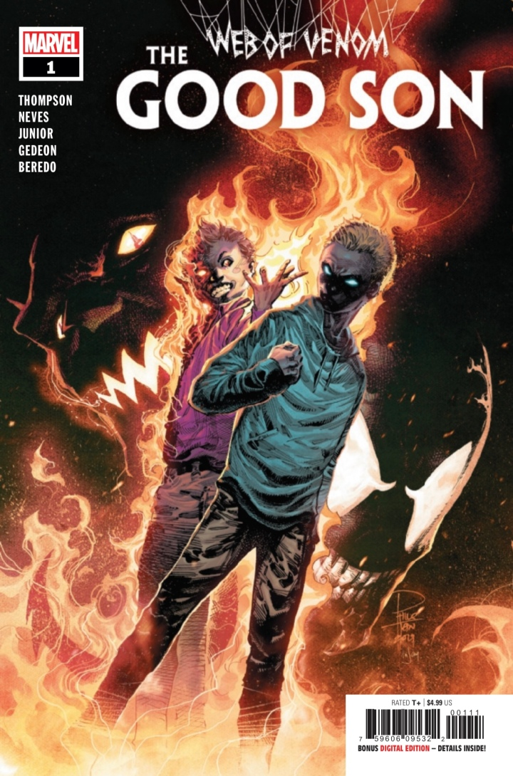 Web of Venom The Good Son 1 Cover