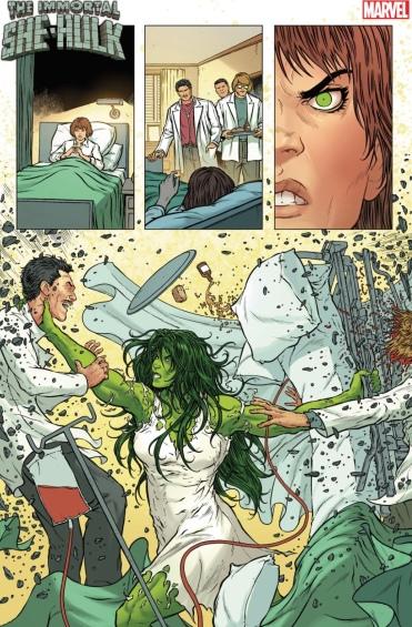 Transformation she hulk She