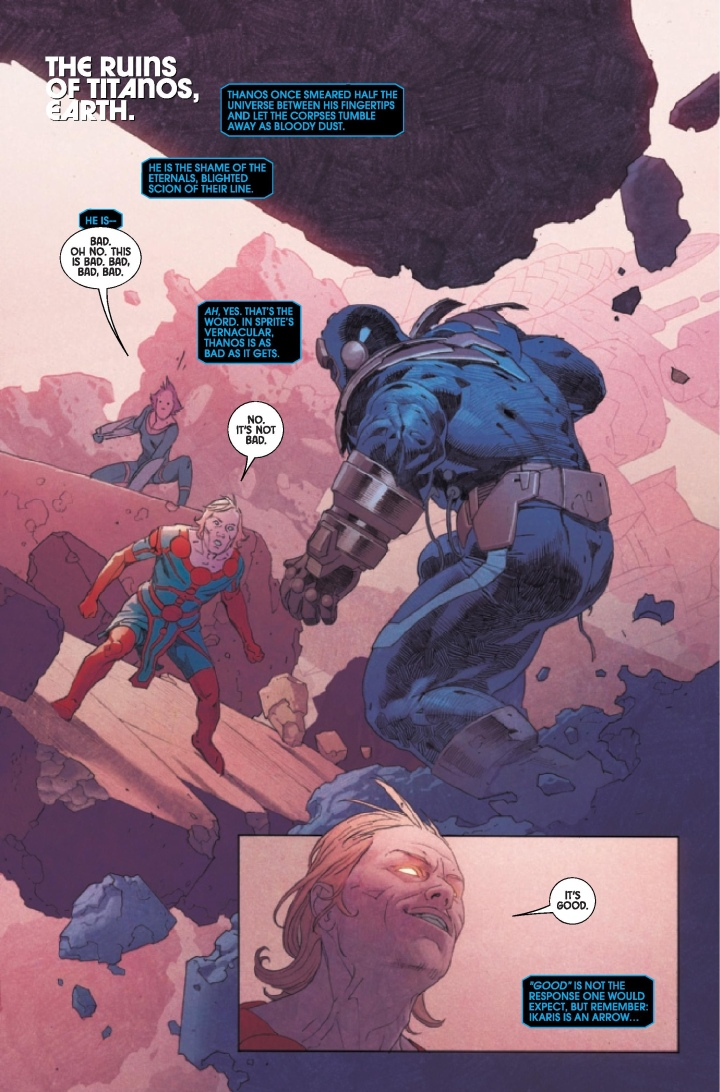 Eternals #2 Preview