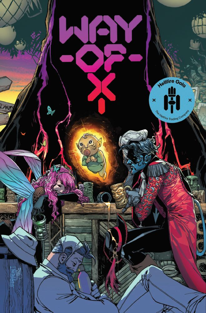 Way of X #3, cover