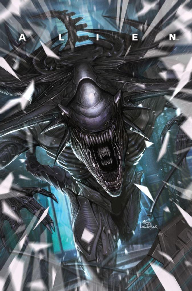 Alien #5, cover